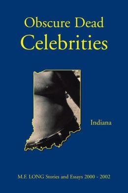 Obscure Dead Celebrities