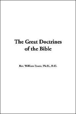 Great Doctrines of the Bible