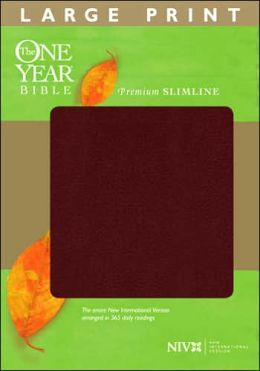 The One Year Bible Premium Slimline LP NIV