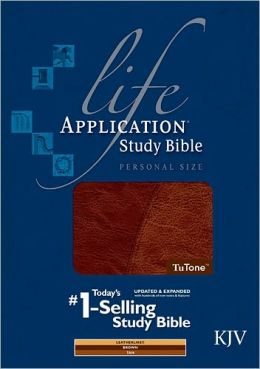Life Application Study Bible KJV, Personal Size, TuTone