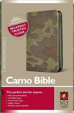 Camo Bible NLT