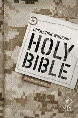 Operation Worship Compact NLTse Marine Corps Bible