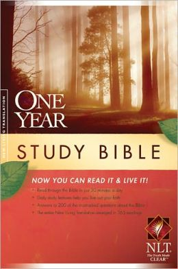 The One Year Study Bible NLT