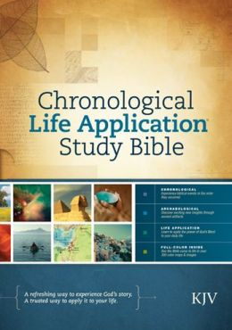 Tyndale Chronological Life Application Study Bible KJV ...