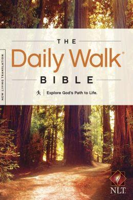 The Daily Walk Bible NLT