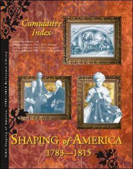 Shaping America: Cumulative Index