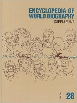 Encyclopedia of World Biography: Supplement