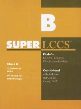 SUPERLCCS: Subclass B-BJ: Philosophy, Ethics