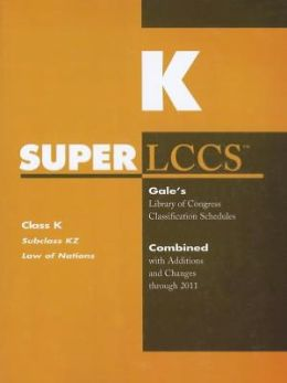 SUPERLCCS: Subclass KZ: Law of Nations