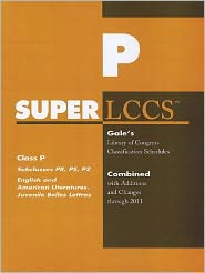 SUPERLCCS: Subclass PR-PZ: English literature, Fiction