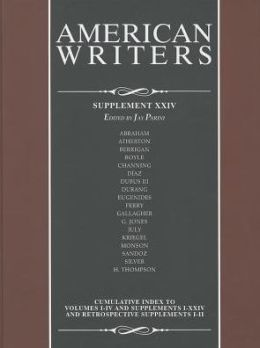 American Writers, Supplement XXIV
