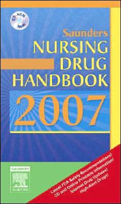 Saunders Nursing Drug Handbook 2007