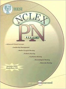 NCLEX-PN Review Book with STUDYware CD-ROM
