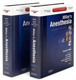 Miller's Anesthesia: Expert Consult Premium Edition - Enhanced Online Features and Print, 2-Volume Set