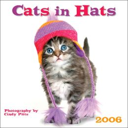 2006 Cats in Hats Wall Calendar