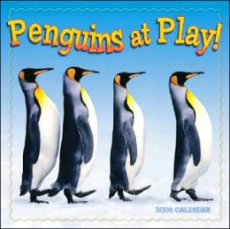 2008 Penguins at Play Wall Calendar