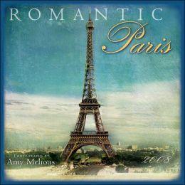 2008 Romantic Paris Wall Calendar
