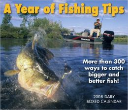 2008 Fishing Tip-a-Day Box Calendar