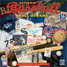 2009 Baseball Hall of Fame Wall Calendar