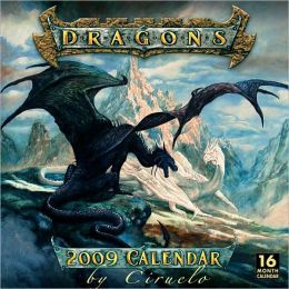 2009 Dragons by Ciruelo Wall Calendar