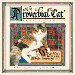2009 Proverbial Cat Mini Wall Calendar