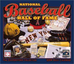 2009 Baseball Hall Of Fame Box Calendar