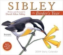 2009 Sibley: The Birder's Year Box Calendar