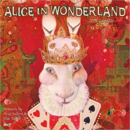 2011 Alice In Wonderland Wall Calendar