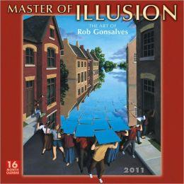2011 Master Of Illusion Wall Calendar