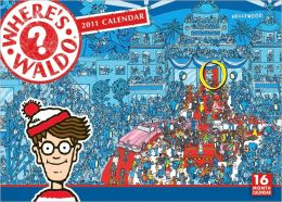 2011 Where'S Waldo Wall Calendar