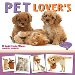 2011 Pet Lovers Wall Planners Calendar