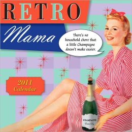 2011 Retro Mama Mini Wall Calendar
