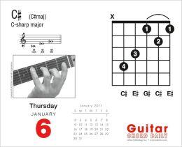 2011 Guitar Chord Box Calendar