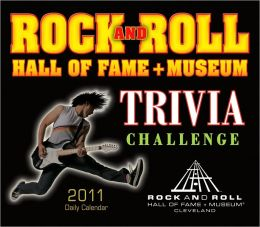 2011 Rock And Roll Hall Of Fame Trivia Challenge Box Calendar