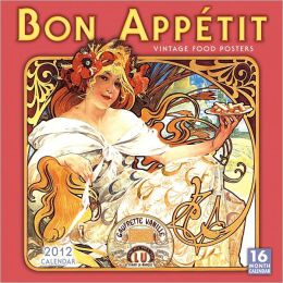 2012 Bon Appetit Wall Calendar