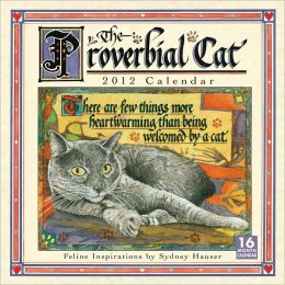 2012 Proverbial Cat Wall Calendar