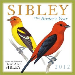 2012 Sibley: The Birder's Year Wall Calendar