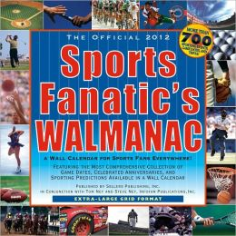 2012 Sports Fanatic Walmanac Wall Calendar