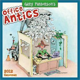 2012 Office Antics by Gary Patterson Wall Calendar