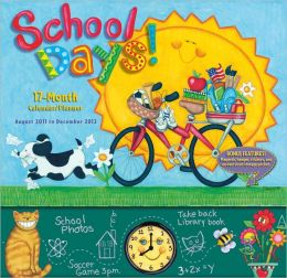 2012 School Days Planner Wall Calendar