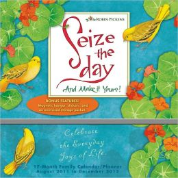 2012 Seize the Day Planner Wall Calendar