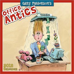 2012 Office Antics by Gary Patterson Mini Wall Calendar