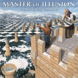 2012 Master of Illusion Mini Wall Calendar