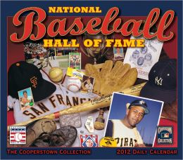 2012 Baseball Hall of Fame Box Calendar