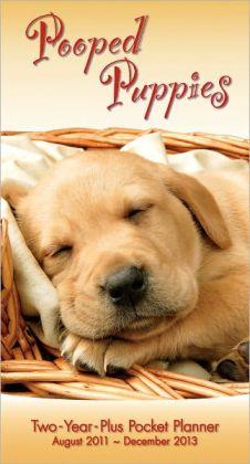 2012 Pooped Puppies Pocket Calendar