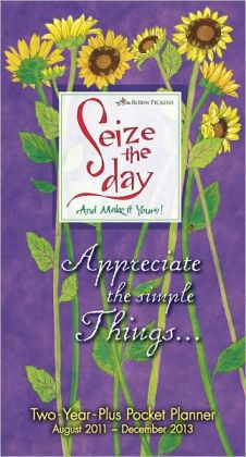 2012 Seize the Day Pocket Calendar