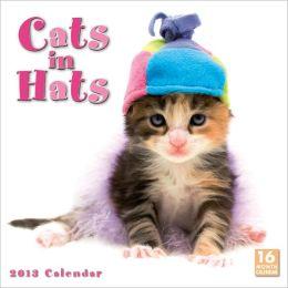 2013 Cats in Hats Wall Calendar