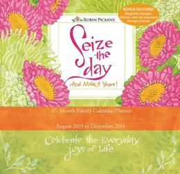 2014 Seize the Day Wall Planner Calendar