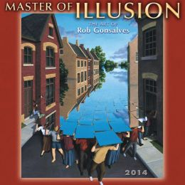 2014 Master of Illusion Mini Wall Calendar