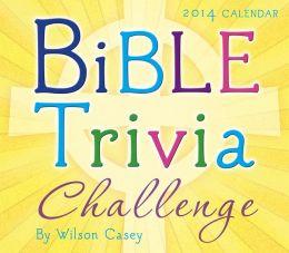 2014 Bible Trivia Boxed Daily Calendar
